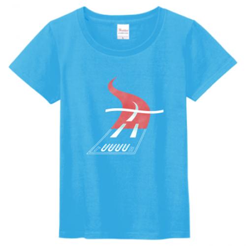 グラフィカルなデザインのプリントTシャツを作成