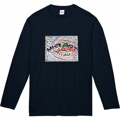 自作アートで子供用の長袖Tシャツを作成