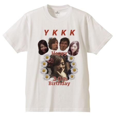 友だちの誕生日にオリジナルTシャツを作成