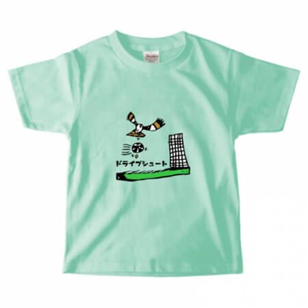 手描きイラストで子供用のプリントTシャツを作成