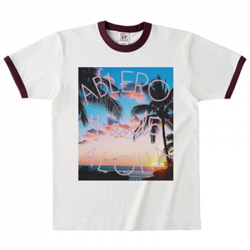 アロハデザインをプリントしたオリジナルTシャツ