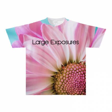 花が一面に!全面プリントのオリジナルTシャツ