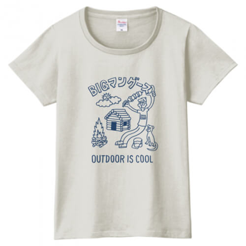個性的なイラストをプリントしてオリジナルTシャツを作成