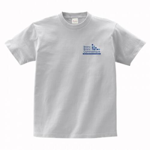 左胸にワンポイントデザインを入れたオリジナルTシャツ