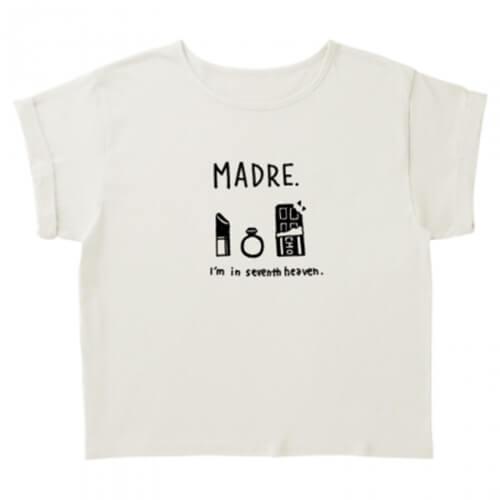 ママのおしゃれイラストでオリジナルTシャツを作成
