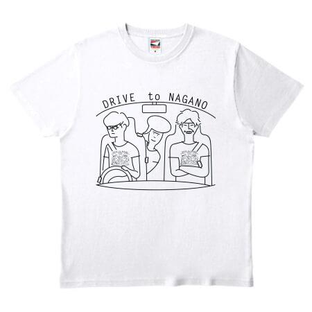 お出かけ用に特急でオリジナルTシャツを作成!