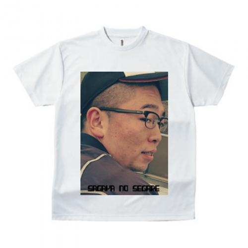 肖像画のような写真Tシャツ