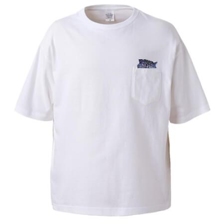 ワンポイントで猫をプリントしたオリジナルTシャツ