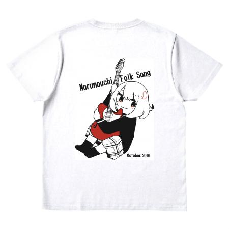 フォークソング部のオリジナルTシャツ