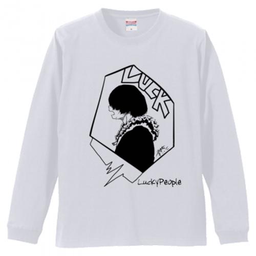 サブカル系イラスト入りオリジナル長袖Tシャツ