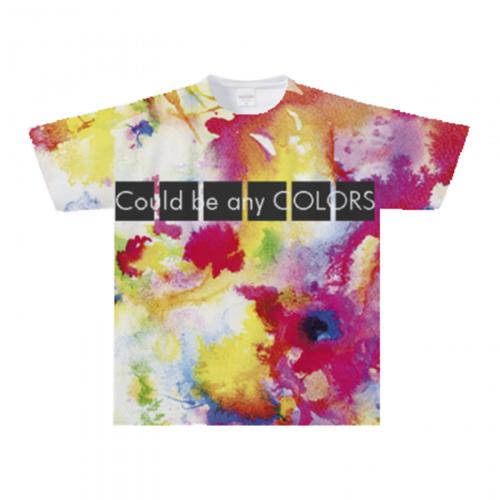 展示会用の全面プリントTシャツ