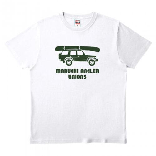 オシャレな車イラストをプリントしたチームのオリジナルTシャツ