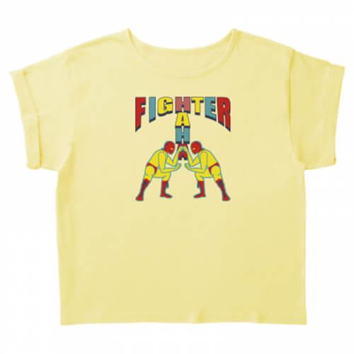 魅力的なイラストのプリントTシャツ