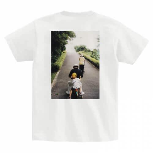 帰省の思い出写真をプリントしたオリジナルTシャツ