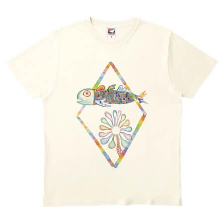 優しい色合いのイラストでオリジナルTシャツを作成