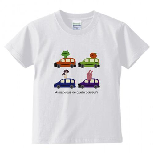 キッズ向けのオリジナルTシャツを販売用に作成