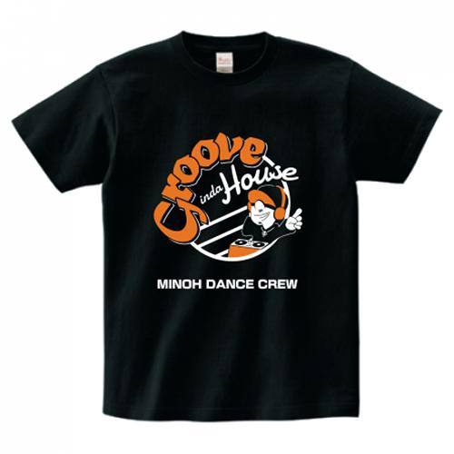 ダンスクルーオリジナルのプリントTシャツ