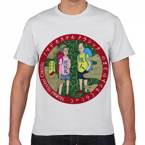 ゲストハウスのオリジナルTシャツを作成