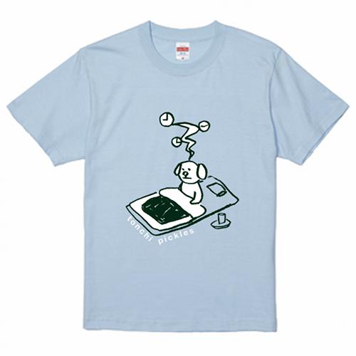 オリジナルイラストで販売用のプリントTシャツを作成