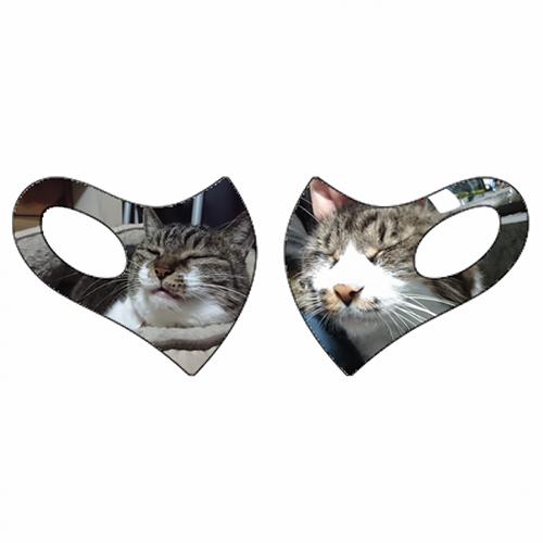 愛猫の写真でオリジナルのクールマスクを作成