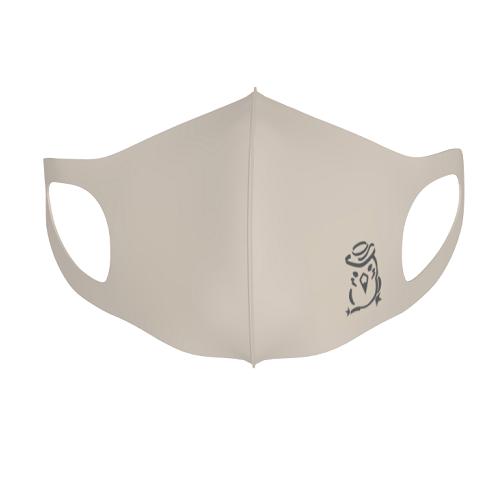 イラストロゴをプリントしたオリジナルの立体マスク