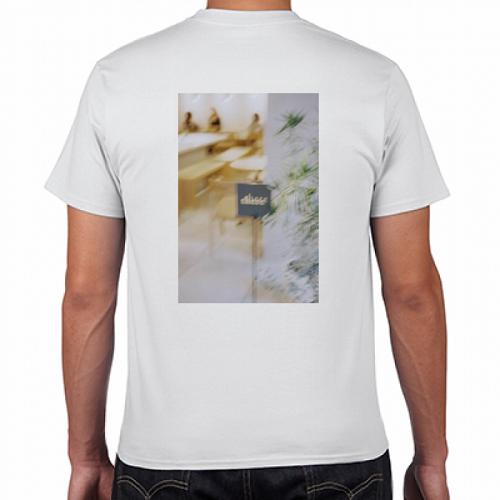 雰囲気ある写真をプリントしたオリジナルTシャツ