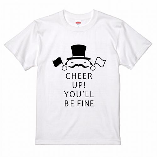 おしゃれなイラストデザインをプリントしたオリジナルTシャツ