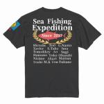 メンバーの名前入り釣りサークルのチームTシャツ