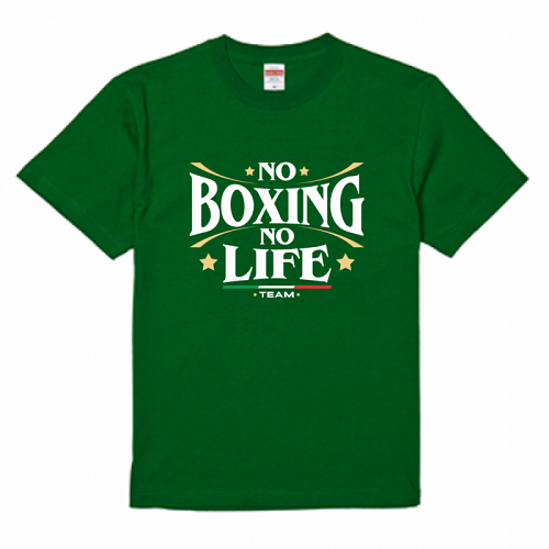 ボクシングのチームTシャツをオリジナルで作成