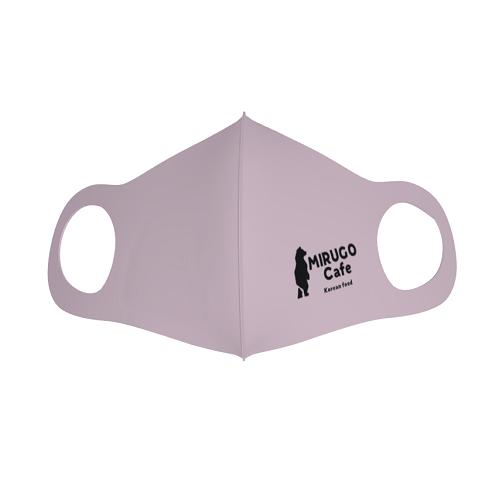 飲食店のロゴをプリントしてオリジナルマスクを作成