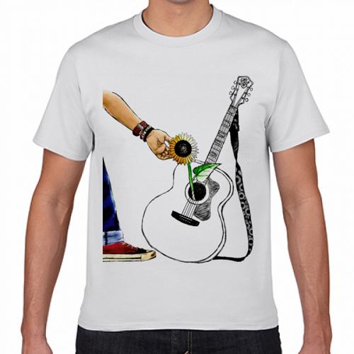 プレゼントにイラストをプリントしてオリジナルTシャツを作成