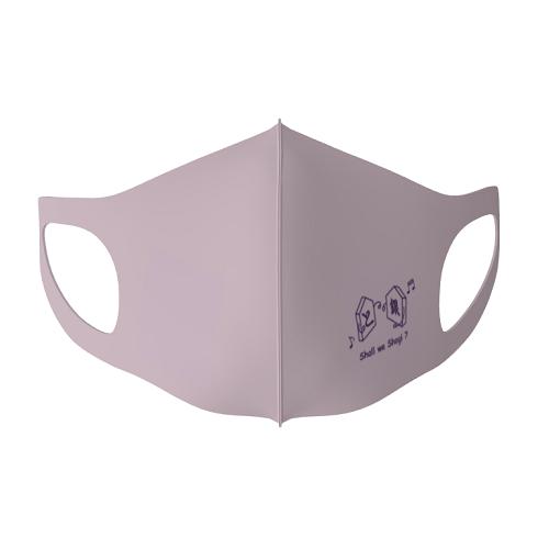 将棋サークルのロゴをプリントしてオリジナルマスクを作成