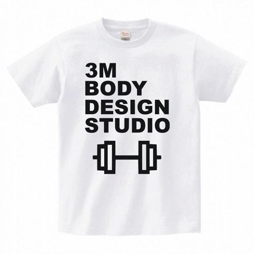 トレーニングジムのロゴをプリントしたオリジナルTシャツ