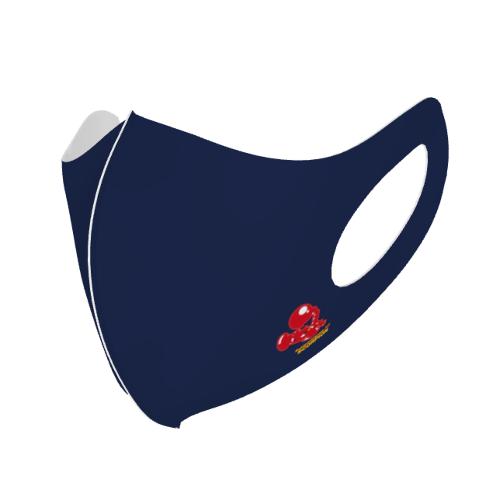 ロゴをプリントして大きめサイズのチームマスクを作成