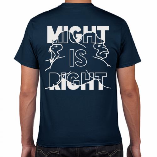 自作のイラストをプリントしたシルクスクリーンプリントTシャツ