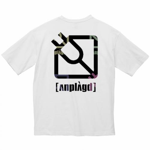 カフェバーのイラストロゴをプリントしたおしゃれなビッグシルエットTシャツ