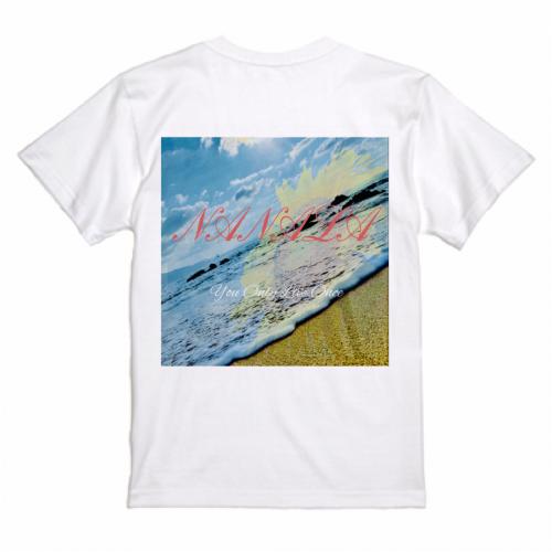 自作の写真デザインを鮮やかにプリントしたプレミアムプリントTシャツ