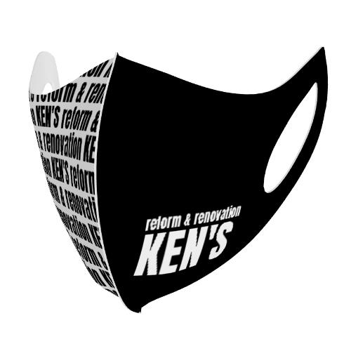 リフォーム会社のロゴ入りマスクを制作!