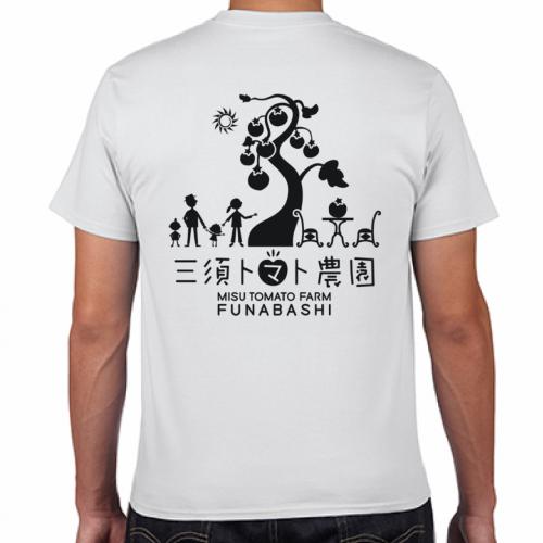 農園のスタッフTシャツをシルクスクリーンプリントTシャツで作成