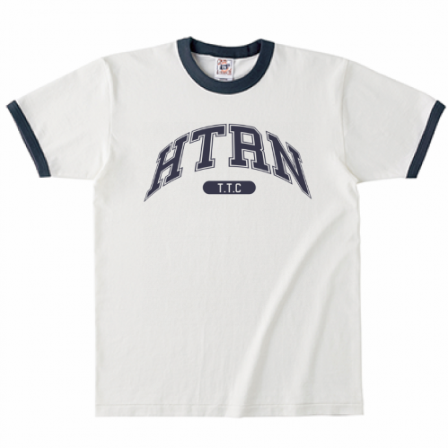 大きくロゴをプリントしてオリジナルのチームTシャツを作成