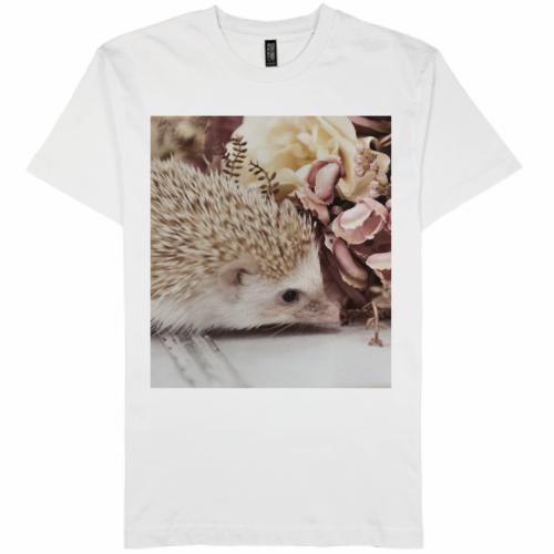 自作の写真をきれいにプリントしたオリジナルTシャツ