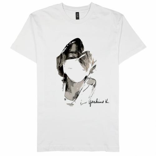 自作の白黒イラストをきれいにプリントしたオリジナルTシャツ