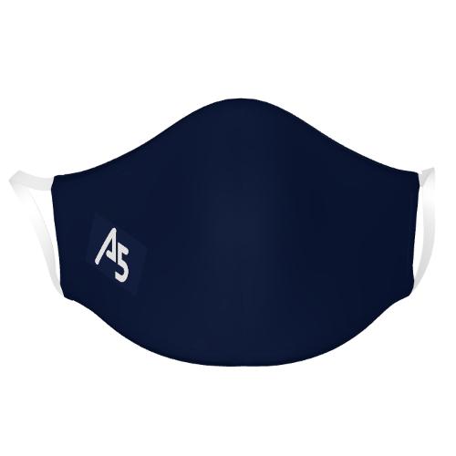 通気性のよいロゴ入りのオリジナルマスク