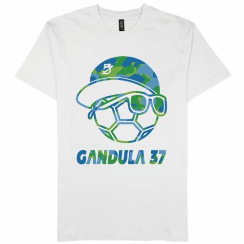自作のイラストを鮮やかにプリントしたオリジナルTシャツ