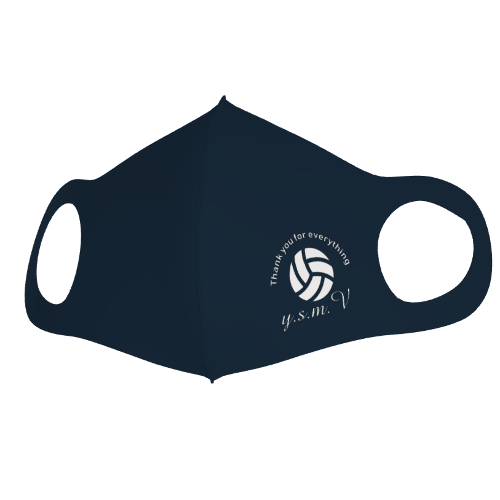 クールマスクでバレーボールのチームマスクを作成!