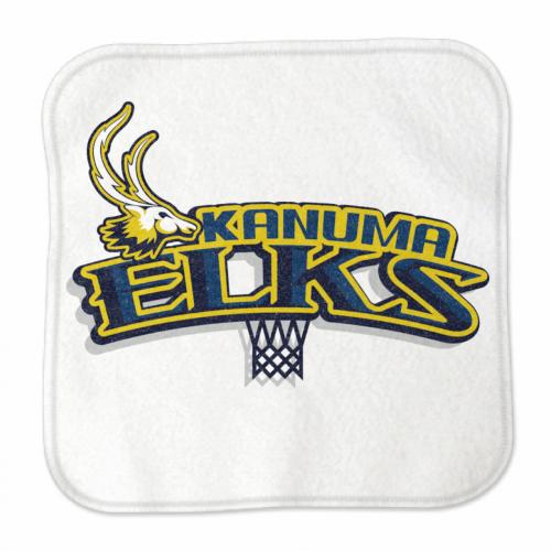 チームのロゴをプリントしてバスケチームのハンカチタオルを作成!