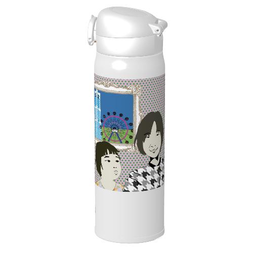 おばあちゃんへイラストをプリントしてサーモスの水筒をプレゼント!