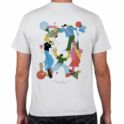 イラストをプリントしてサークルのオリジナルTシャツを作成!