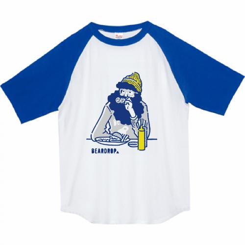 自作イラストをプリントしてオリジナルのラグランTシャツを作成