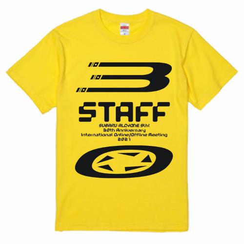 カーイベントのオリジナルスタッフTシャツ